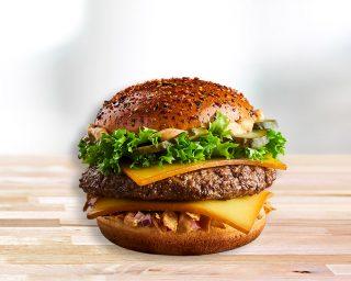 Maestro™ burger <br>veiseliha ja Cheddariga